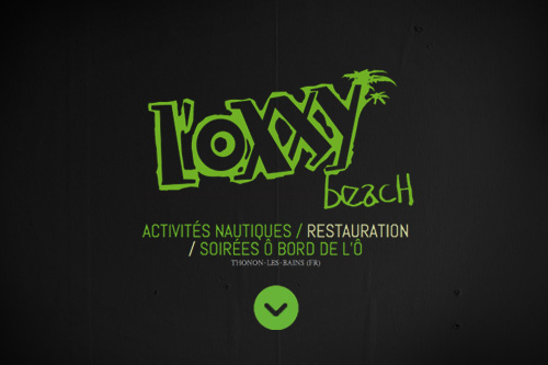 Graphiste t-shirt impression textile Oxxy Beach