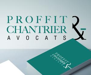 Création de logo avocats Proffit Chantrier