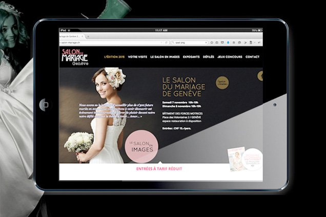 Design web et outils de communication pour l'événement