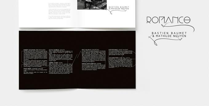 Design graphique pour une pochette de cd